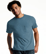 Hanes Classics Mens Tagless ComfortSoft Dyed A-Shirt 4-Pack