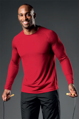Long Sleeve Red T Shirt Mens - Greek T Shirts